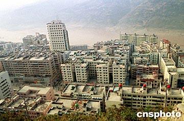 图文:重庆市奉节新城已初具规模