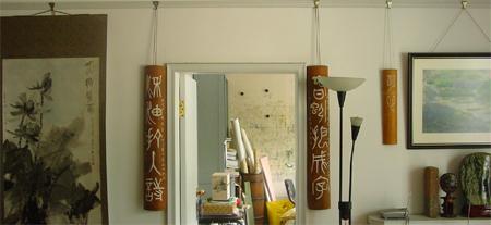 皱纹纸墙饰边框图片
