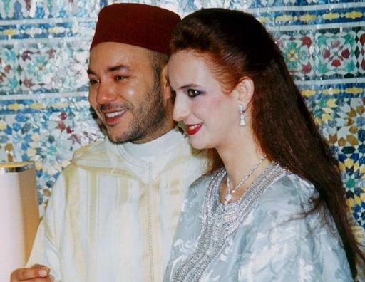 组图:摩洛哥国王娶美女工程师