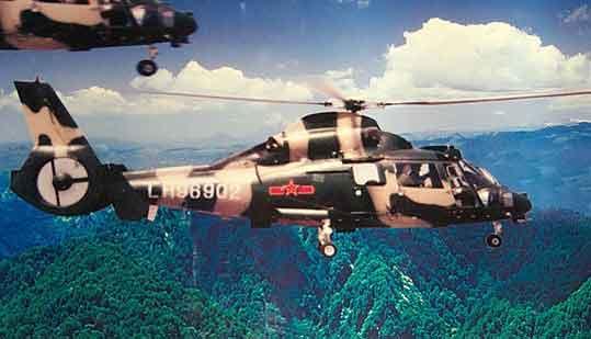 1979年,我国原有的直5直升机由于性能落后而停产,直升机处于后继无机的状况。在这种严峻的形势下,航空工业与总参装备部共同组成直升机考察组先后到美国、法国和加拿大考察3周有关直升机及其发动机的生产现状、技术水平和销售情况,并选定美国贝尔公司的贝尔212/412与法国宇航公司的SA365N/N1海豚为重点考察对象。经过多方对比,后者具有技术比较先进、合同条件比较合理、价格相对便宜等优势,经部党组审定后上报国务院批准,引进法宇航公司的海豚直升机及透傅梅卡公司的发动机,并责成中航技公司与法国上述两公司