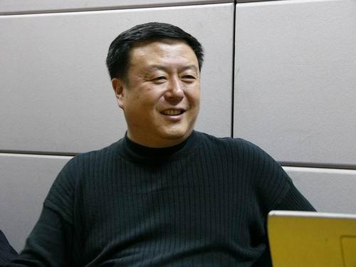 图文:11月13日著名导演尤小刚做客搜狐-25
