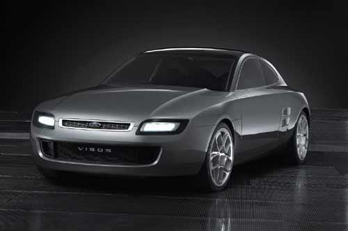 法兰克福车展 2003福特 Visos 概念车