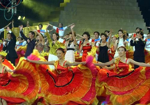 昨晚,第四届中国金鹰电视艺术节颁奖晚会暨闭幕式在长沙世界之窗五洲图片