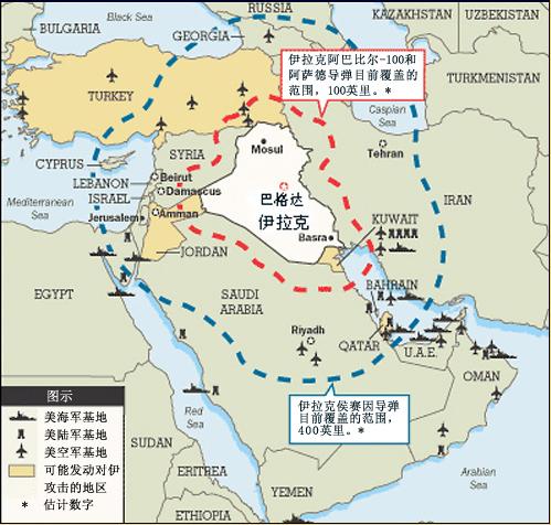 图文:伊拉克防卫线