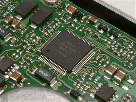 硬盘电路板bios芯片