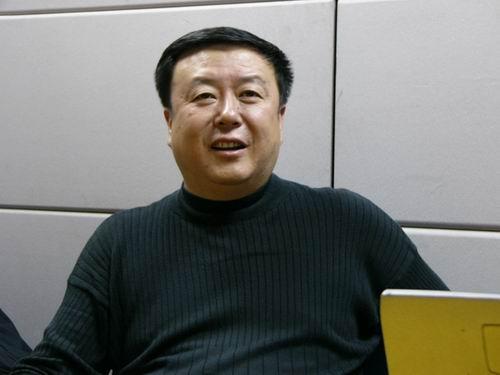 图文:11月13日著名导演尤小刚做客搜狐-24