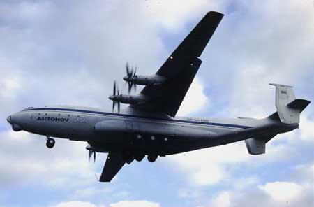 相关资料:安东诺夫-22飞机(图)