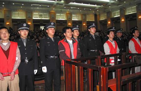 沈阳1-18爆炸抢劫运钞车案4案犯被判死刑(图)