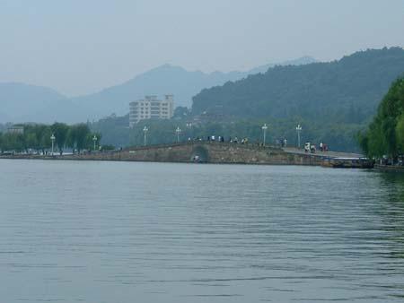 搜狐手机时尚之旅杭州西湖采风 断桥