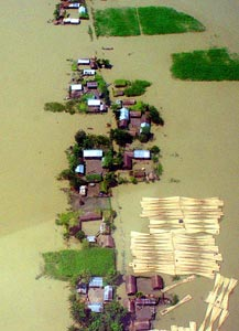 水灾-印度洪灾严重