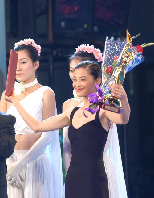 图文:金鹰节闭幕―群星闪耀的颁奖典礼-21