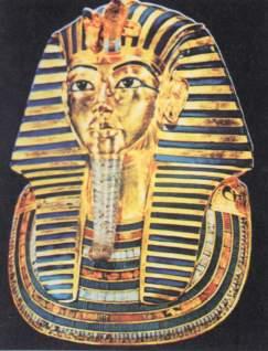 古埃及法老王他-埃及国王称为法老.面具是公元前14世纪时的埃及法老图坦哈蒙死后所图片