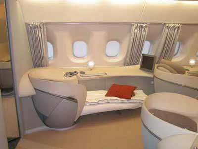 """整个空中客车系列飞机只有两种; 空客打造""""飞行中的酒店"""":a380豪华"""