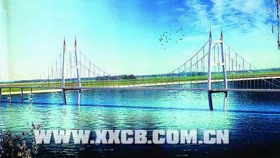 曲线透视手绘图桥