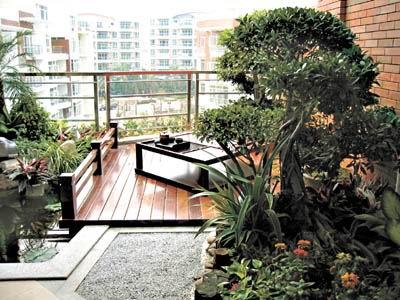 沿江新盘:把空中花园建在家里(图)图片