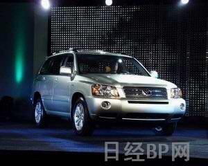 田展示05年款油电混合SUV高清图片