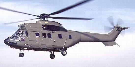 as532美洲豹直升飞机 专门对抗坦克集群(图)
