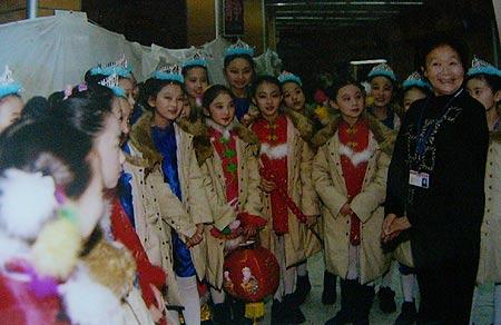 图文:2004春晚揭密-小演员
