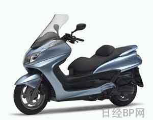 雅马哈踏板摩托车采用三大新技术(图)