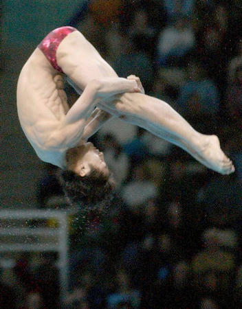 世界杯跳水赛闭幕 田亮获男子10米板冠军