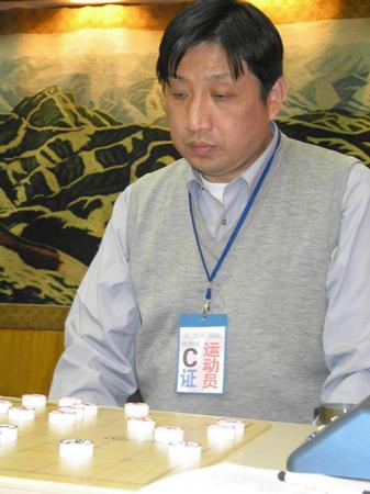 中国象棋南北对抗赛 柳大华在比赛