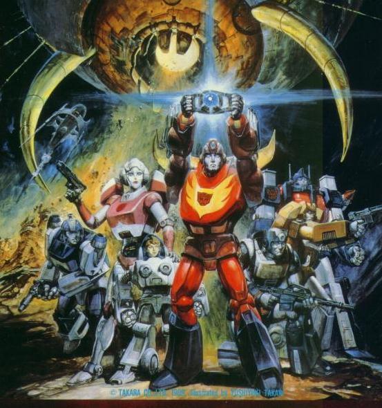 1984年美国推出大型系列动画片16集《变形金刚》(season 1),简称tf.