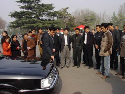 红旗 明仕 04版全国试车会在泉城启动高清图片