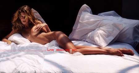 组图:德国巴西混血美女盖斯勒