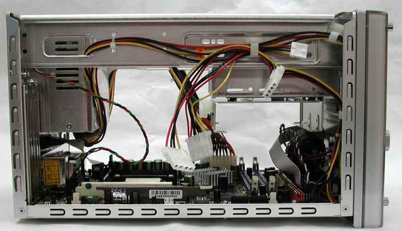 台式电脑主机接线图