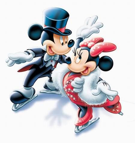 图文:可爱的迪士尼卡通形象-米奇2