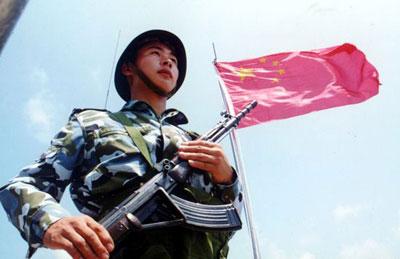 组图:中国南海舰队守卫祖国海防前哨南沙群岛