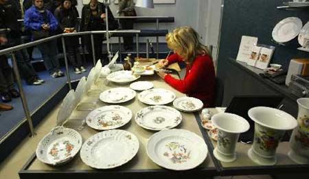 """图文:""""瓷中白金""""--德国梅森瓷器博物馆"""