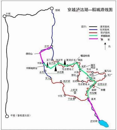 卡瓦洛日雪山 地图