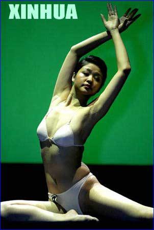 人体艺体模特的屄_组图:中国首次人体艺术模特大赛在重庆结束
