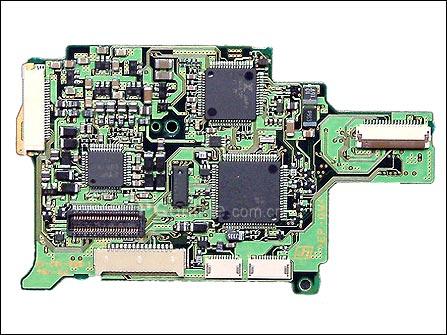 这里就是最核心系统控制和电源电路板