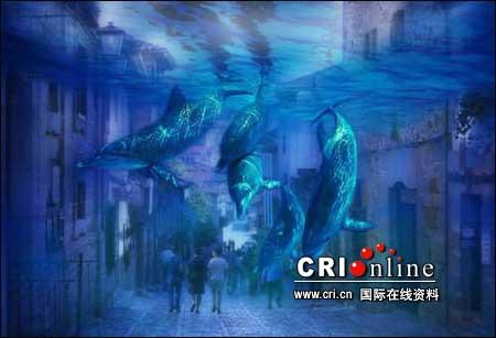 """高科技展现""""未来海底城市"""""""