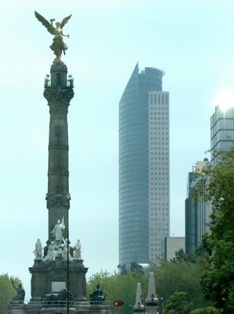 墨西哥城老城的标志性建筑独立