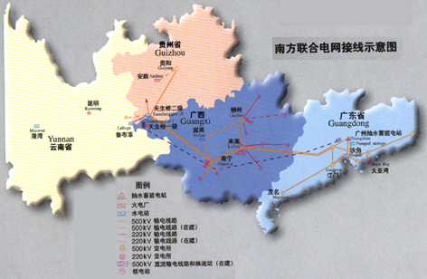 云南省广西省地图