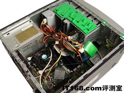 主流商用台式机:hp compaq