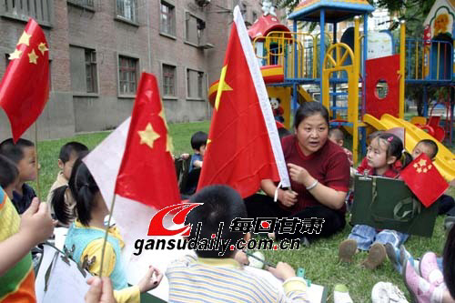 """省煤炭幼儿园""""六一""""活动别开生面(图)"""
