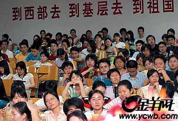 广东大学生志愿者服务山区为当地经济作贡献
