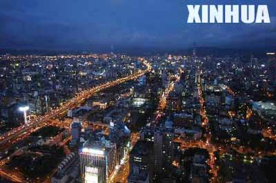 俯瞰台北图片