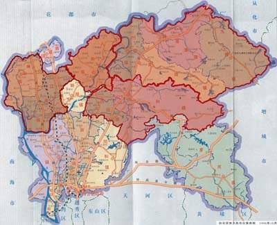 记者从广州市白云区镇级行政区划调整干部大会