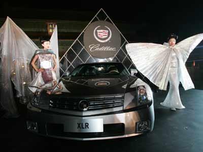 凯迪拉克的旗舰产品-豪华硬顶敞蓬跑车xlr高清图片