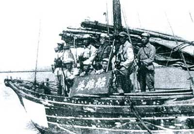 解放军渡海登岛作战实录 积累了大量经验(组图)