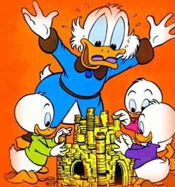 为庆祝唐老鸭70大寿 迪士尼举行盛大宴会 (图)
