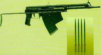苏俄蛙人水中利器:水下手枪和自动步枪(组图)图片