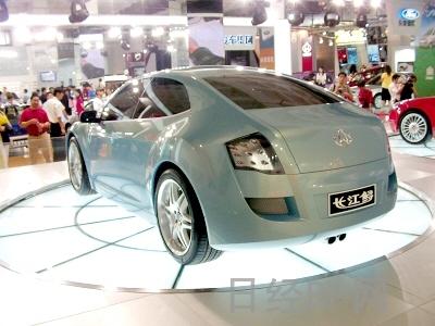 北京车展长安汽车展出两款概念车 组图高清图片