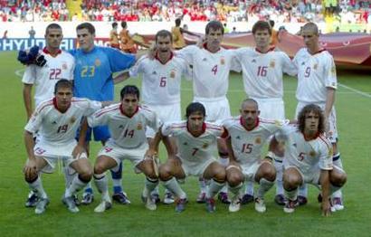图文:葡萄牙获胜淘汰西班牙 西班牙队首发阵容