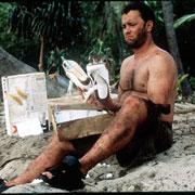 汤姆-汉克斯要做鲁宾逊 举家前往孤岛度假(图)